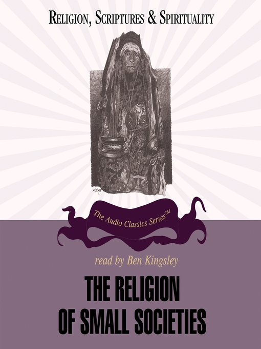 The Religion of Small Societies (MP3)