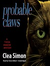 Probable Claws (MP3): Theda Krakow Mystery Series, Book 4