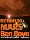 Return to Mars (MP3): The Grand Tour Series, Book 5