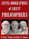 Living Biographies of Great Philosophers (MP3)