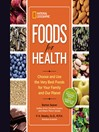 Foods for Health (MP3): Choose and Use the Very Best Foods for Your Family and Our Planet