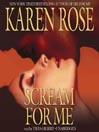 Scream for Me (MP3): Daniel Vartanian Series, Book 2