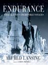 Endurance (MP3): Shackleton's Incredible Voyage