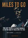 Miles to Go (MP3): The Lost Years: An Intimate Memoir of Life on the Road with Miles Davis 1973-1983