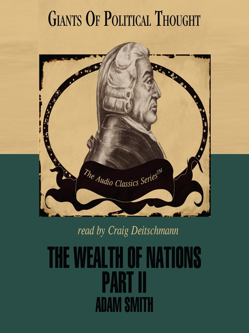 The Wealth of Nations, Part II (MP3)