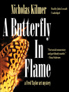 A Butterfly in Flame (MP3): Fred Taylor Art Mystery Series, Book 7