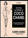 The Gospel According to Coco Chanel (MP3): Life Lessons from the World's Most Elegant Woman