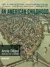 An American Childhood (MP3)