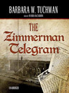 The Zimmermann Telegram (MP3)