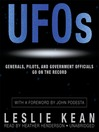 UFOs (MP3): Generals, Pilots, and Government Officials Go on the Record