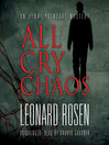All Cry Chaos (MP3): Henri Poincaré Series, Book 1