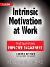 Intrinsic Motivation at Work, 2nd Edition (MP3): What Really Drives Employee Engagement