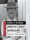 America's Great Depression (MP3)