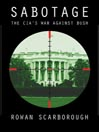 Sabotage (MP3): America's Enemies Within the CIA