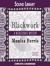 Blackwork (MP3): Needlecraft Mystery Series, Book 13