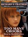 Too Many Crooks (MP3): Shell Scott Mystery Series, Book 8