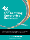 42 Rules for Growing Enterprise Revenue (eBook): Go-to-Market Strategies that Increase Your Relevance to B2B Customers