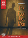 The Four Just Men (MP3): Four Just Men Series, Book 1