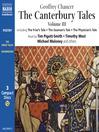 Canterbury Tales (MP3): Volume 3: Modern English Verse Translation
