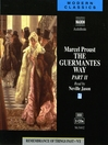 The Guermantes Way (MP3): Part 2