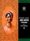 Jane Austen (MP3): A Biography