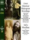 Great Historical Shakespeare Recordings (MP3)