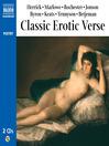 Classic Erotic Verse (MP3)