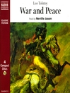 War and Peace (MP3)
