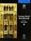 Balthazar (MP3): The Alexandria Quartet, Volume II