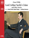 Lord Arthur Savile's Crime and Other Stories (MP3)
