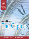 The Captive (MP3): Remembrance of Things Past, Volume V