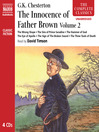 The Innocence of Father Brown, Volume 2 (MP3)