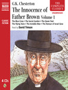 The Innocence of Father Brown, Volume 1 (MP3)