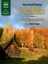 Walden/Civil Disobedience (MP3)