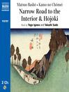 Hojoki / Narrow Road to the Interior (MP3)