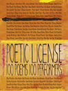 Poetic License (MP3): 100 Poems – 100 Performers