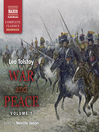 War and Peace, Volume I (MP3)