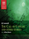 The Call of Cthulhu and Other Stories (MP3)