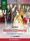 Heaven's Command (MP3): An Imperial Progress