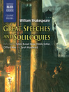 Great Speeches and Soliloquies (MP3)