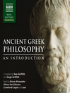 Ancient Greek Philosophy (MP3): An Introduction