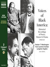 Voices of Black America (MP3): Historical Recordings of Speeches, Poetry, Humor & Drama: 1908-1947