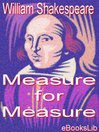 Measure for Measure (eBook)