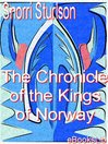 The Chronicle of the Kings of Norway (eBook)