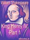 King Henry IV, Part 1 (eBook)