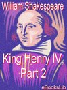King Henry IV, Part 2 (eBook)