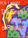 The Einstein Theory of Relativity (eBook)