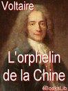 L'orphelin de la Chine (eBook)