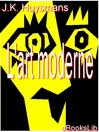 L'art moderne (eBook)