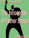 The Innocence of Father Brown (eBook)